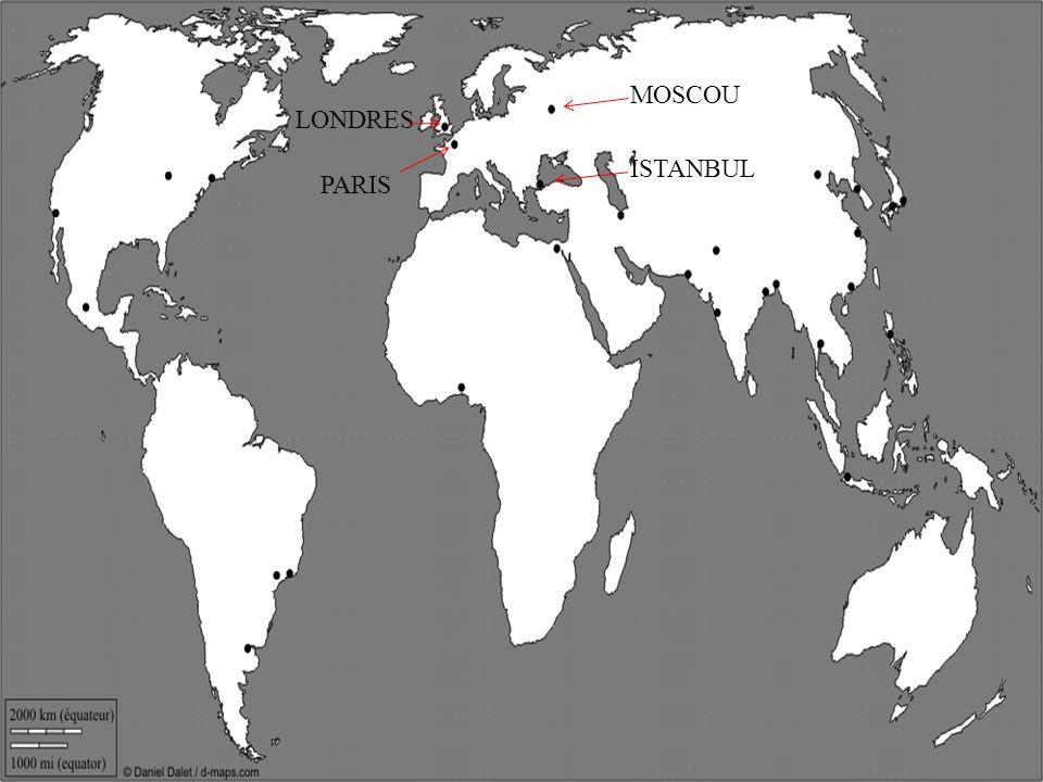 PARIS LONDRES MOSCOU ISTANBUL Le CAIRE WASHINGTON LOS ANGELES MEXICO RIO DE JANEIRO BUENOS AIRES TEHERAN DJAKARTA MANILLE HONG KONG TOKYO