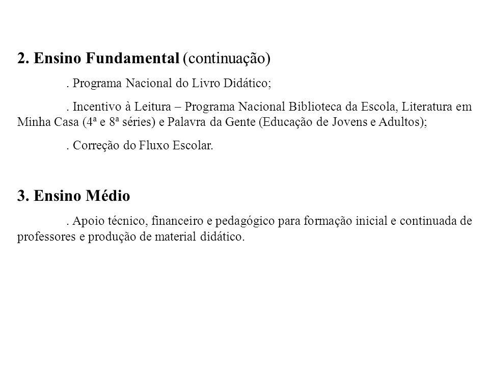 Políticas de Financiamento da Educação FUNDEB (Fundo de Manutenção e Desenvolvimento da Educação Básica).
