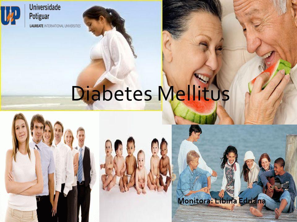  O diabetes é um grupo de doenças metabólicas caracterizadas por hiperglicemia e associadas a complicações, disfunções e insuficiência de vários órgãos, especialmente olhos, rins, nervos, cérebro, coração e vasos sangüíneos.