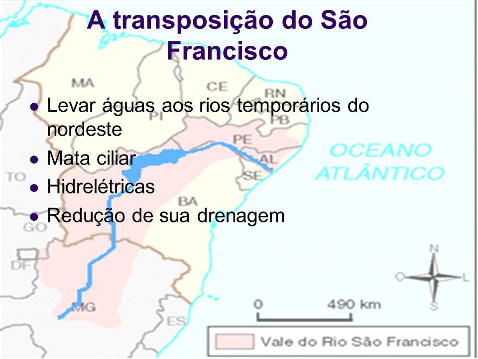 30/7/201518 O Velho Chico Rio da Integração nacional Rio dos Currais Grande potencial hidrelétrico Rio São Francisco