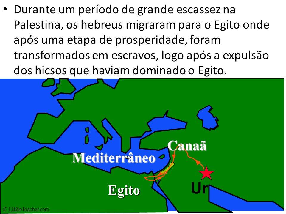 Cisma (980 aC) – Divisão do Reino dos Hebreus Reino do Norte (Israel) Capital – Samaria 10 Tribos Conquistada pelos assírios (740 aC) Reino do Sul (Judá) Capital – Jerusalém 2 Tribos Conquistado pelos Caldeus (607 aC) Início do Cativeiro Babilônico