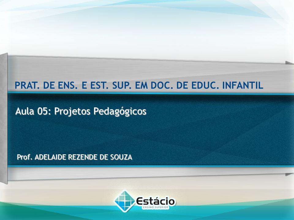 Conteúdo programático Projetos Pedagógicos Organização de Atividades Significativas PRAT.