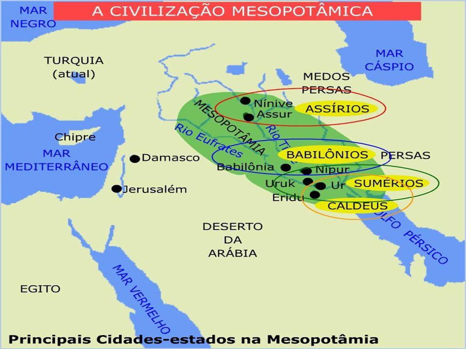 Política:  Dentre os povos que dominaram a Mesopotâmia, podemos destacar:  Os Sumérios; AULA DADA  Os Acádios;  Os Babilônicos;  Os Assírios. Mes
