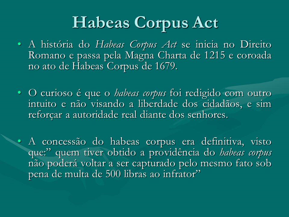 habeas corpus and the war on