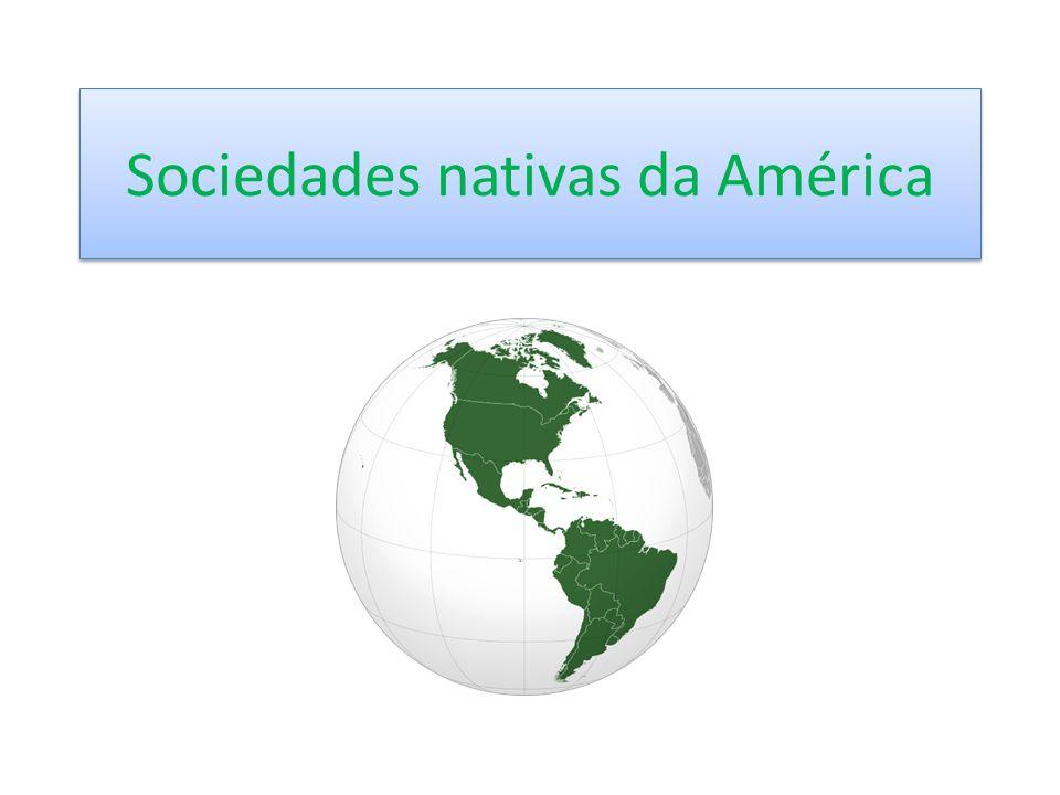 Sociedades nativas da América