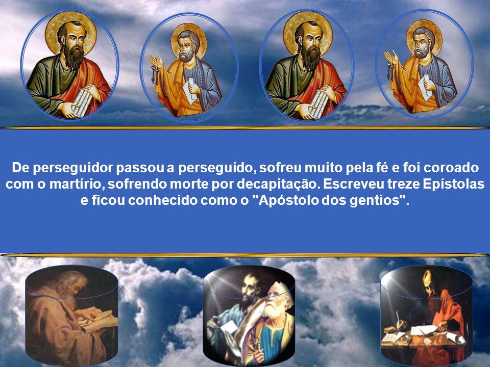 Converteu-se à fé cristã no caminho de Damasco, quando o próprio Senhor Ressuscitado lhe apareceu e o chamou para o apostolado. Recebeu o Batismo do E