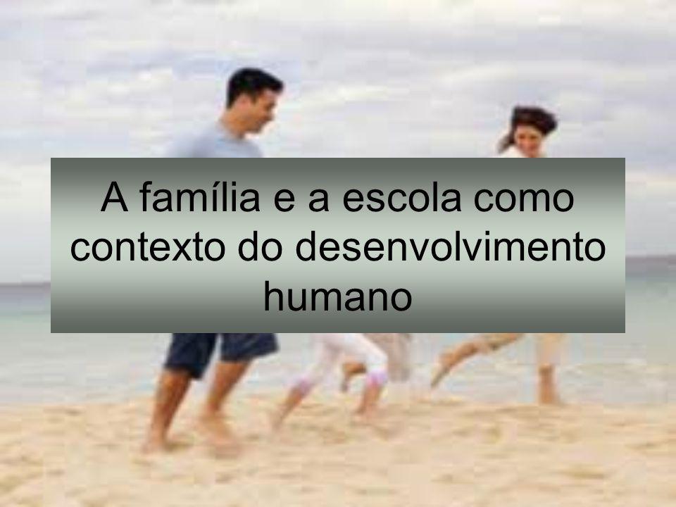A família e suas configurações Vínculos familiares e redes de apoio: implicações para o desenvolvimento