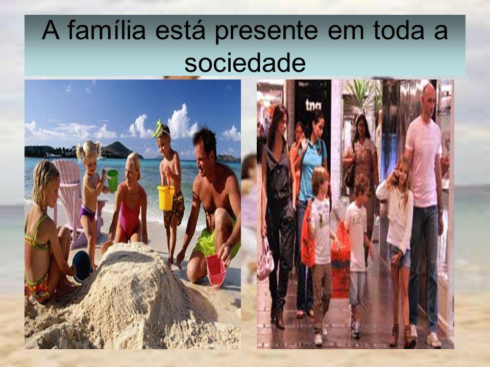 É a família que funciona como mediadora das dinâmicas entre as relações afetivo, social, cultural e religiosa