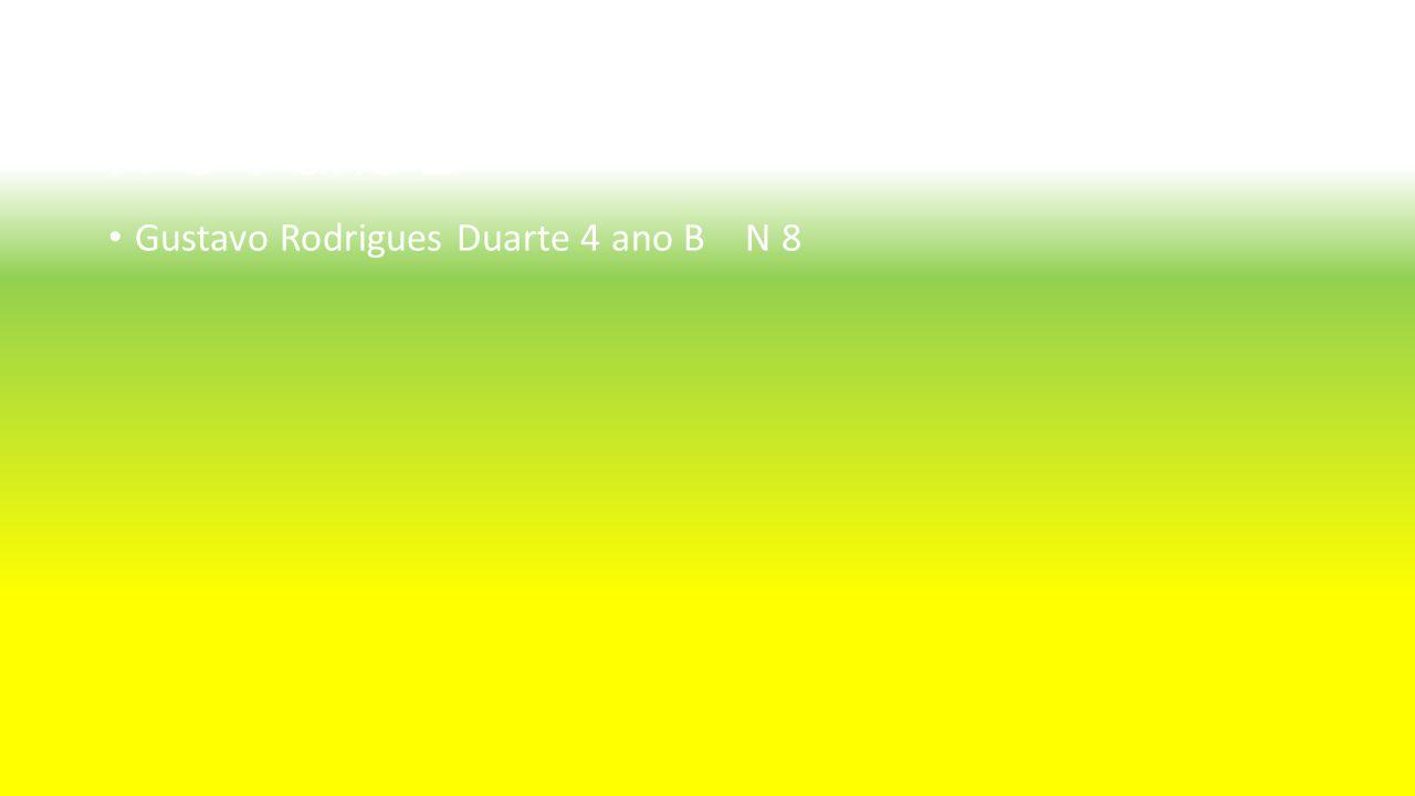 Aluno : Gustavo Rodrigues Duarte Nº8 4ºano B Gustavo Rodrigues Duarte 4 ano BN 8