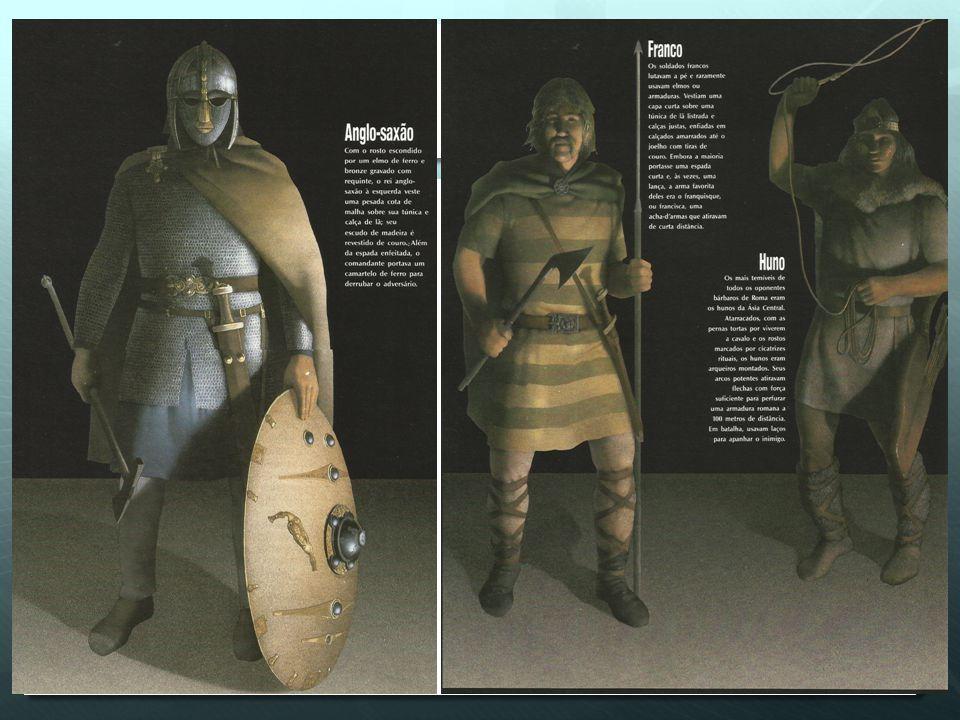 Sarcófago de um general romano representando batalha entre romanos e tribos germânicas no século II.
