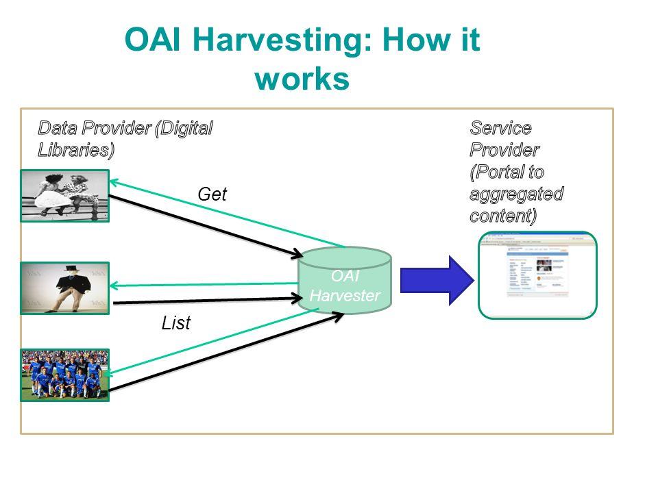 OAI Harvester Get List