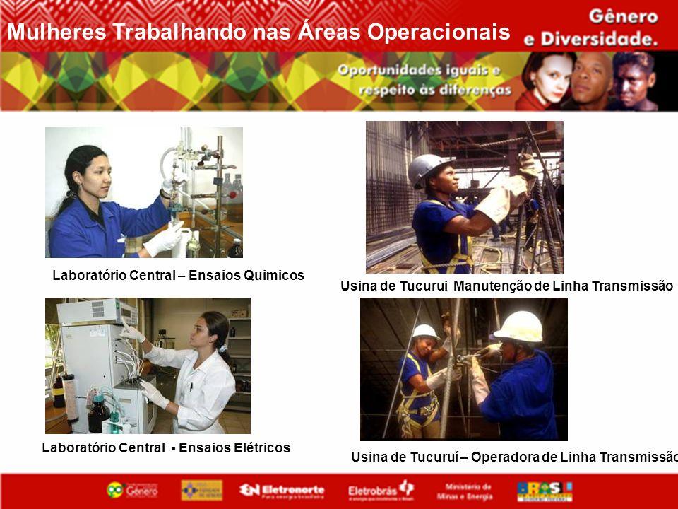 Laboratório Central – Ensaios Quimicos Laboratório Central - Ensaios Elétricos Usina de Tucuruí – Operadora de Linha Transmissão Usina de Tucurui Manu