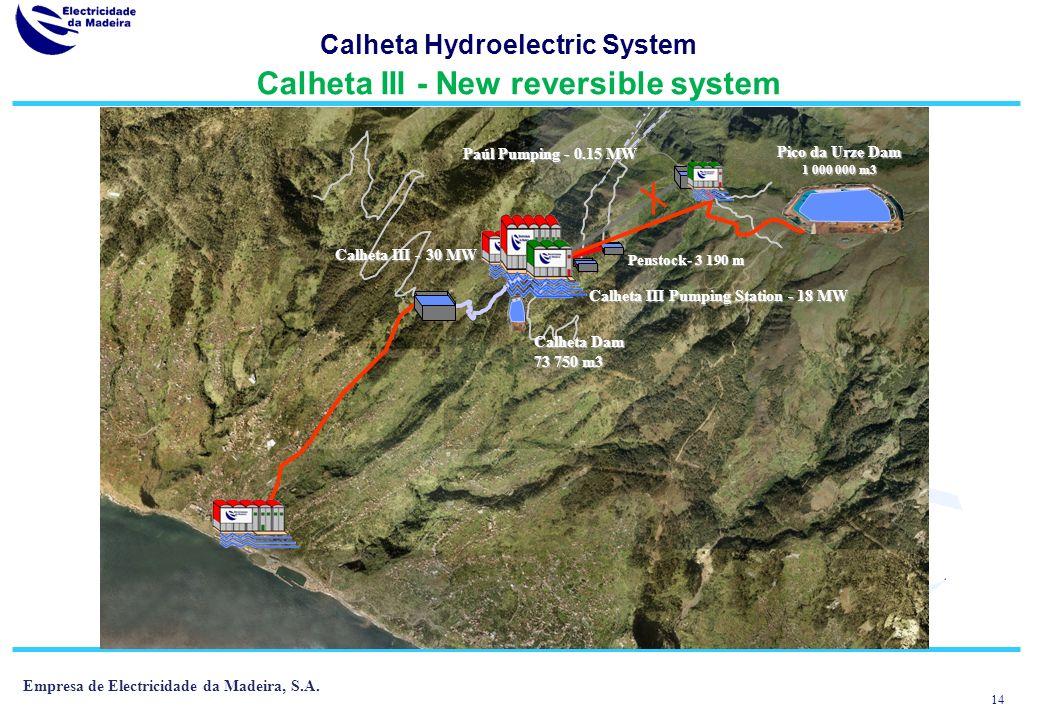 13 Empresa de Electricidade da Madeira, S.A.