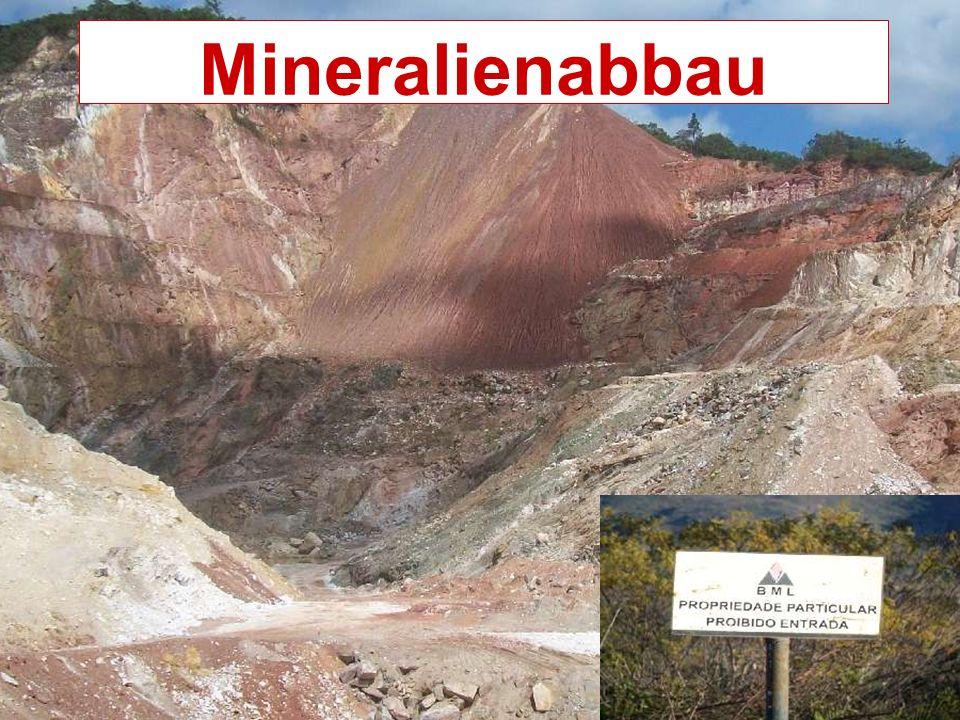 Mineralienabbau