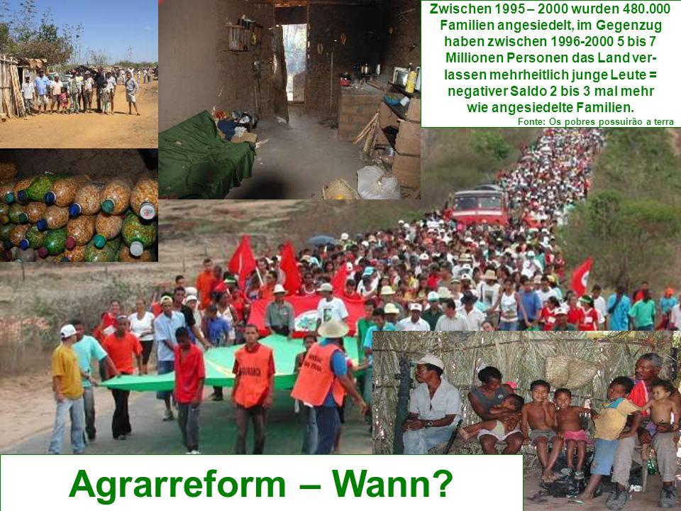 Agrarreform – Wann.