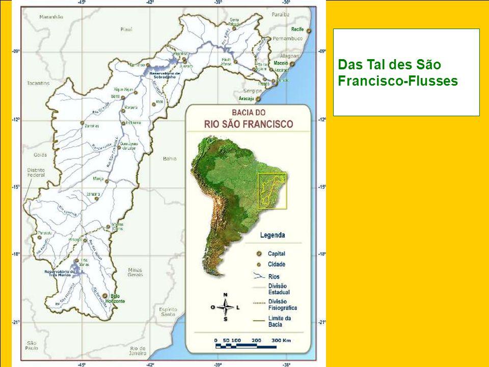 Das Tal des São Francisco-Flusses