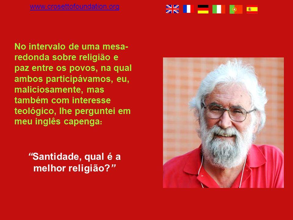 Breve diálogo entre o teólogo brasileiro Leonardo Boff e o Dalai Lama. O UNIVERSO É O ECO DE NOSSAS AÇÕES E NOSSOS PENSAMENTOS Leonardo es uno de los