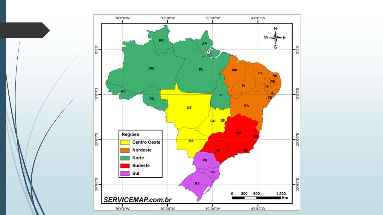 Sudeste:  É a região mais populosa do Brasil, com mais de 80 milhões de habitantes, com 42% da população brasileira e 87 habitantes para cada quilômetro quadrado.