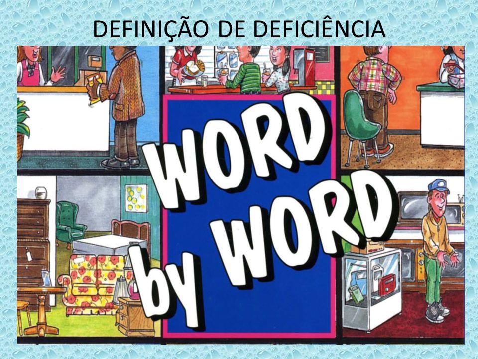 DEFINIÇÃO DE DEFICIÊNCIA INTELECTUAL