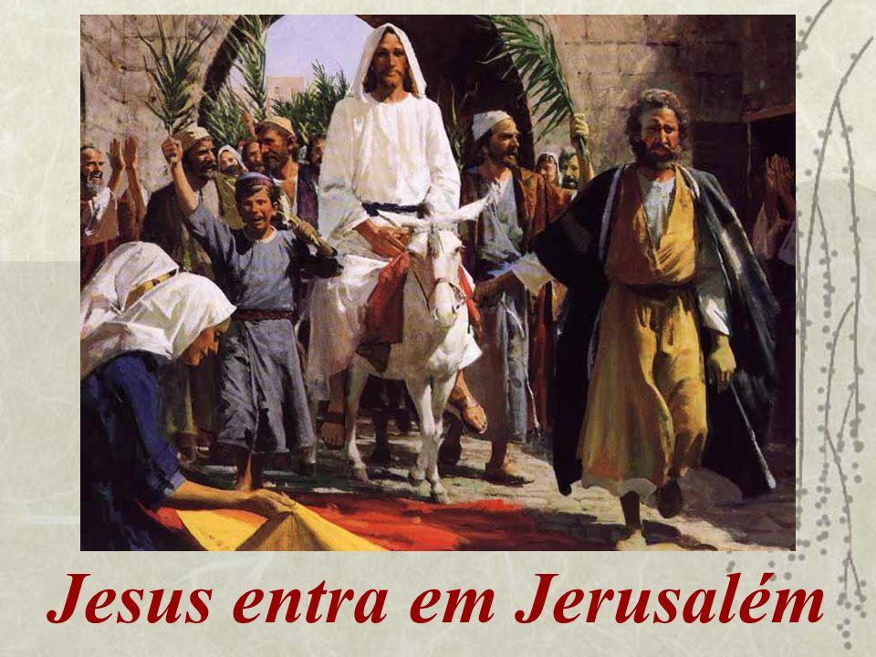 Jesus entra em Jerusalém