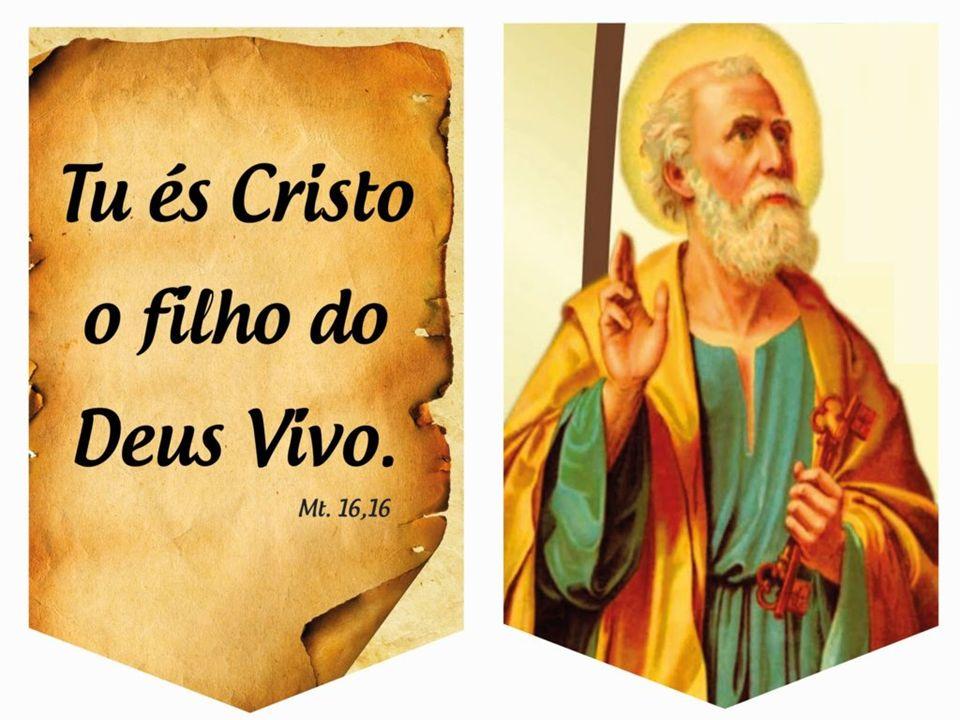 No Evangelho, Pedro faz sua Profissão de Fé e recebe o Primado.