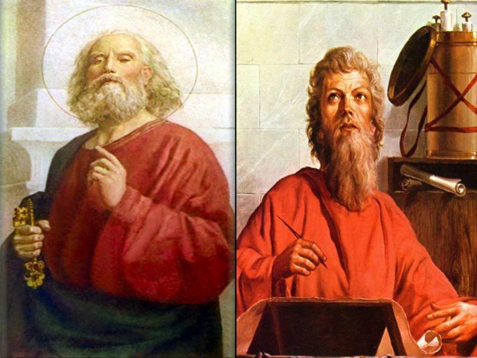 + PEDRO E PAULO são figuras gigantescas da Igreja primitiva, que tinha a missão de continuar a OBRA salvadora de Cristo...