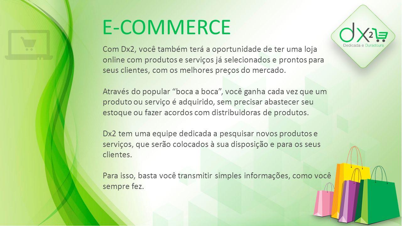 E-COMMERCE As empresas sabem bem que a publicidade é o combustível para o seu negócio.