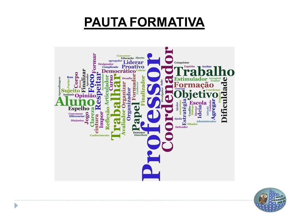 Resumo Um bom planejamento de pauta compreende sua sua função formativa e também sua estrutura processual.