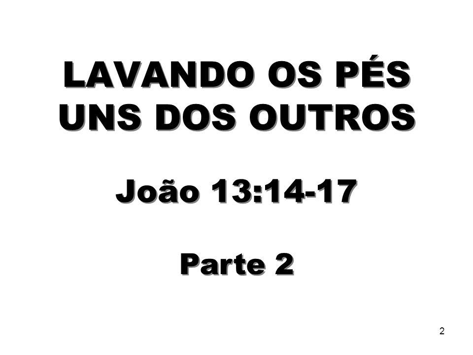 3 BatismoCeia do Senhor Jesus nos deu as ordenanças do Batismo e da Ceia do Senhor, que pelas quais, nós celebramos a Sua morte e ressurreição.