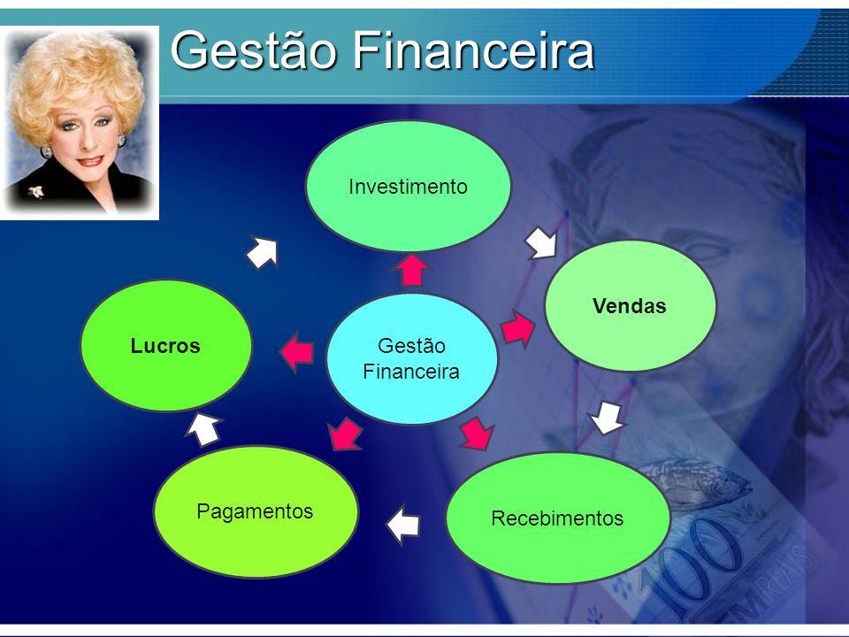 Gestão Financeira Investimento Vendas Recebimentos Pagamentos Lucros