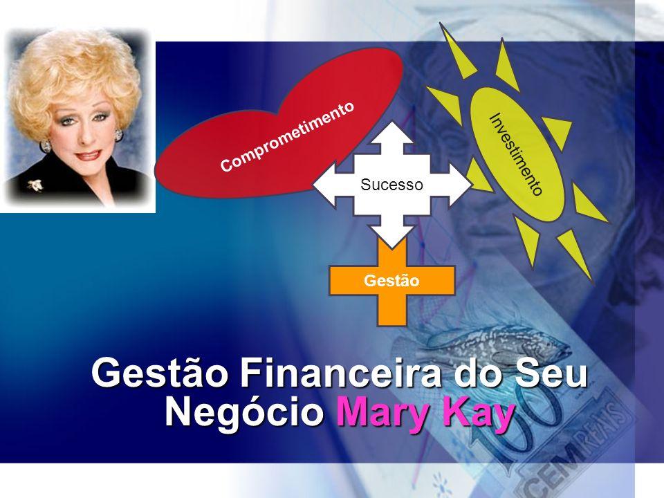 Gestão Financeira do Seu Negócio Mary Kay Comprometimento Gestão Investimento Sucesso