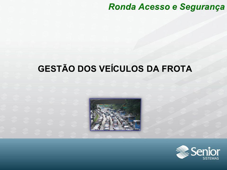 GESTÃO DOS VEÍCULOS DA FROTA
