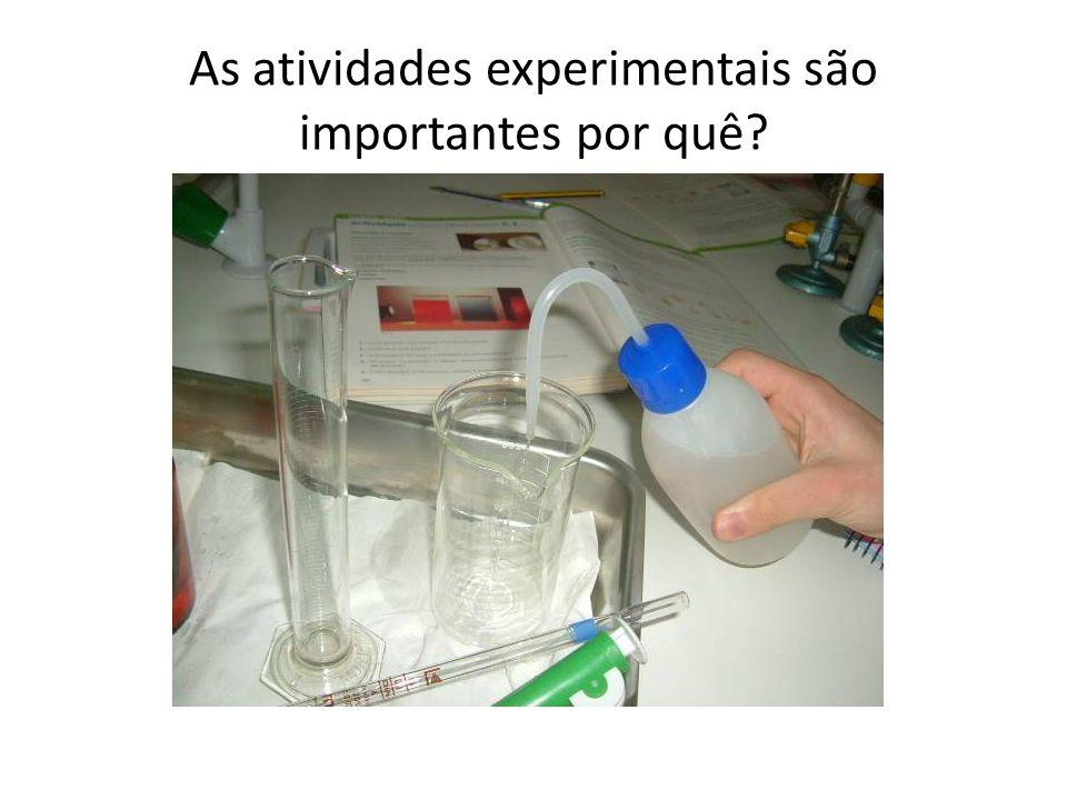 As atividades experimentais são importantes por quê?