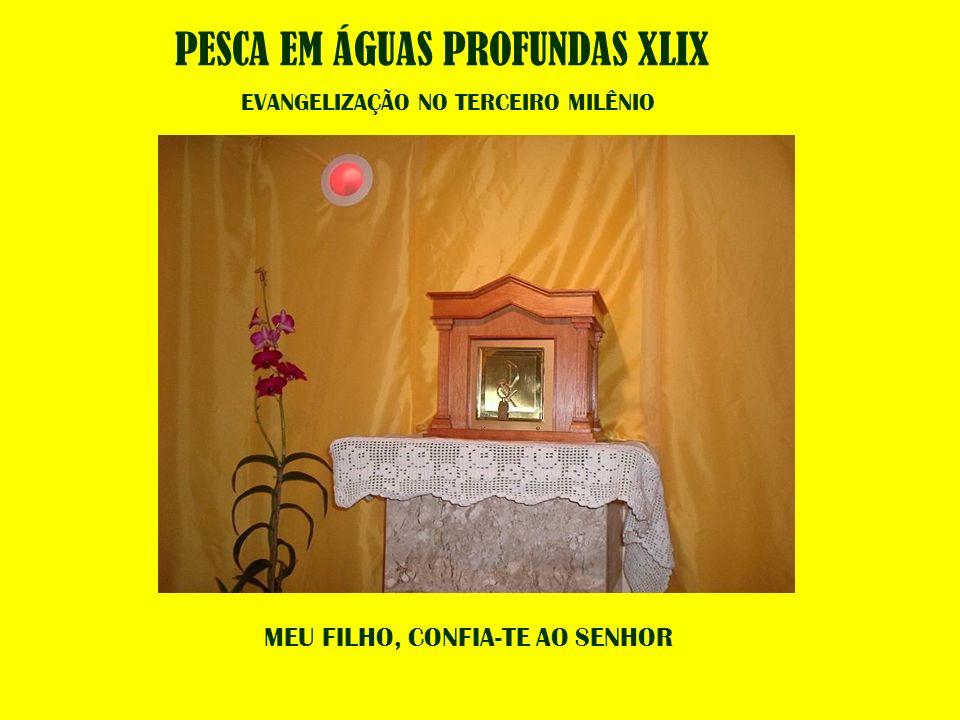 MEU FILHO, CONFIA-TE AO SENHOR PESCA EM ÁGUAS PROFUNDAS XLIX EVANGELIZAÇÃO NO TERCEIRO MILÊNIO