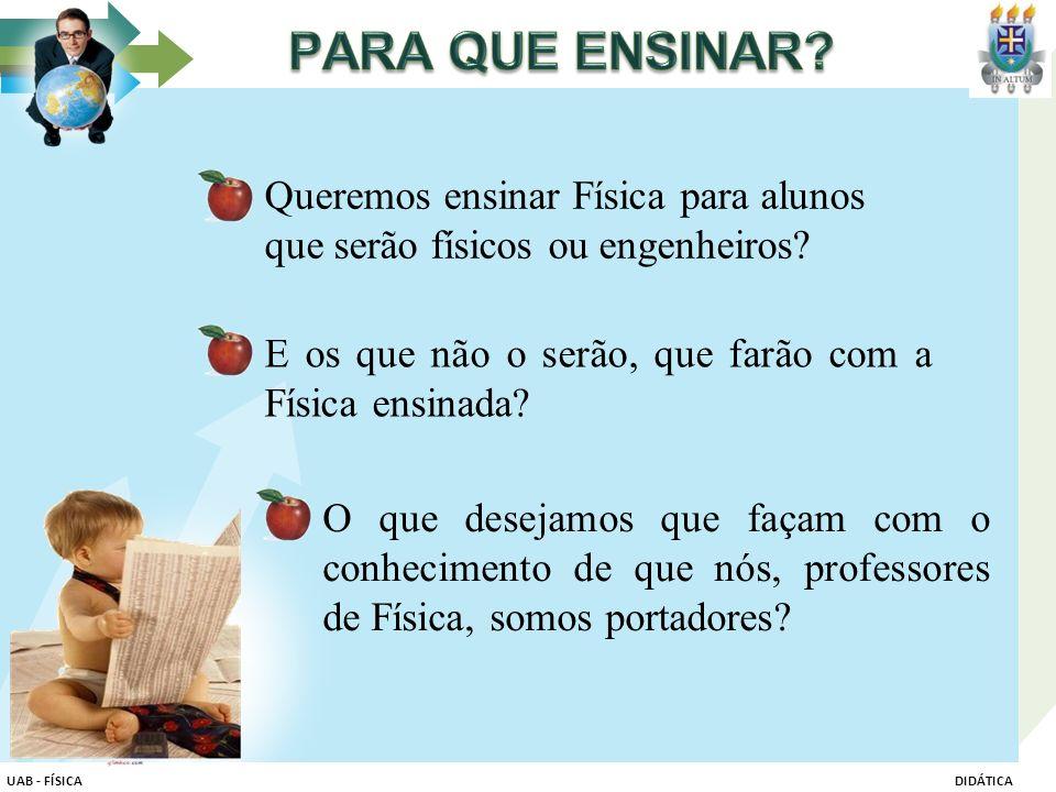 RESENHAS ELABORAÇÃO DE UM PLANO DE ENSINO ATIVIDADES VIA FÓRUNS UAB - FÍSICADIDÁTICA