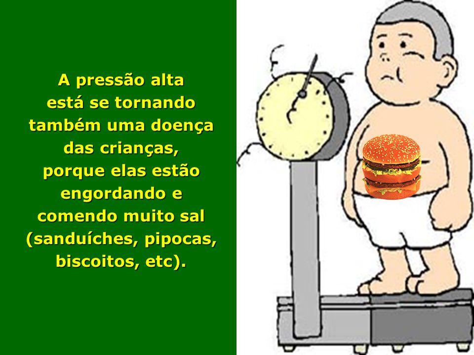Quem tem pressão alta geralmente pode, a critério médico, deixar de tomar remédios (e manter sua pressão normal) SE: *Reduzir o peso corporal e mantê-lo normal *Praticar exercícios físicos regulares, tipo caminhadas (de preferência todos os dias), por no mínimo 30 minutos.