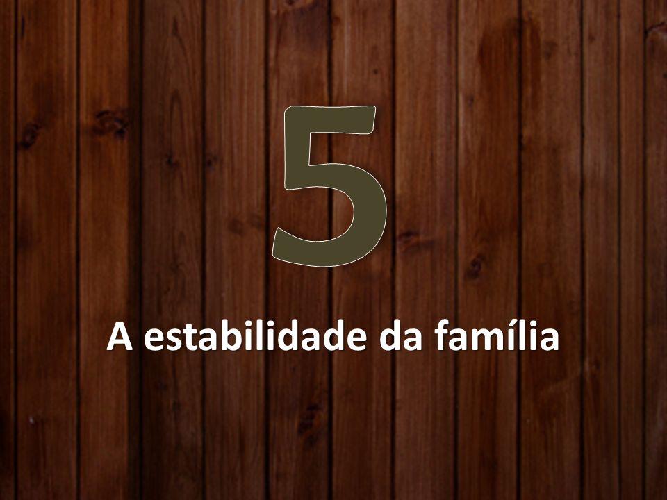 A estabilidade da família