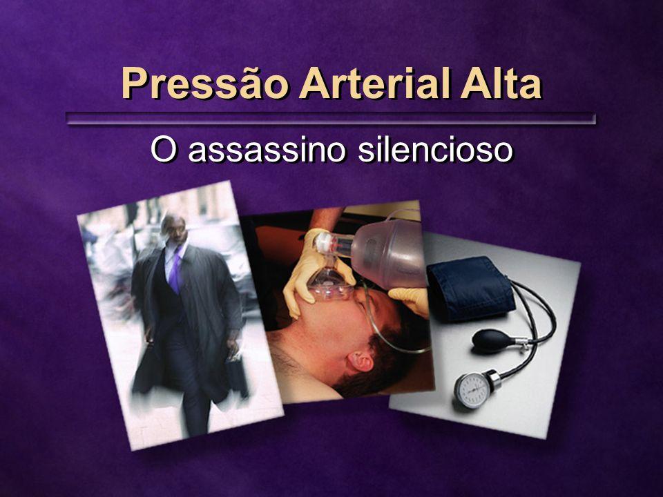 Pressão Arterial Alta O assassino silencioso