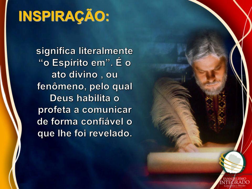 Toda a Escritura é divinamente inspirada, e proveitosa para ensinar, para redargüir, para corrigir, para instruir em justiça .
