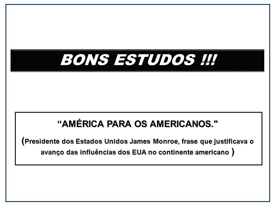 BONS ESTUDOS !!.