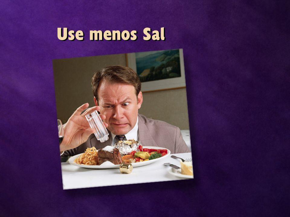 Use menos Sal