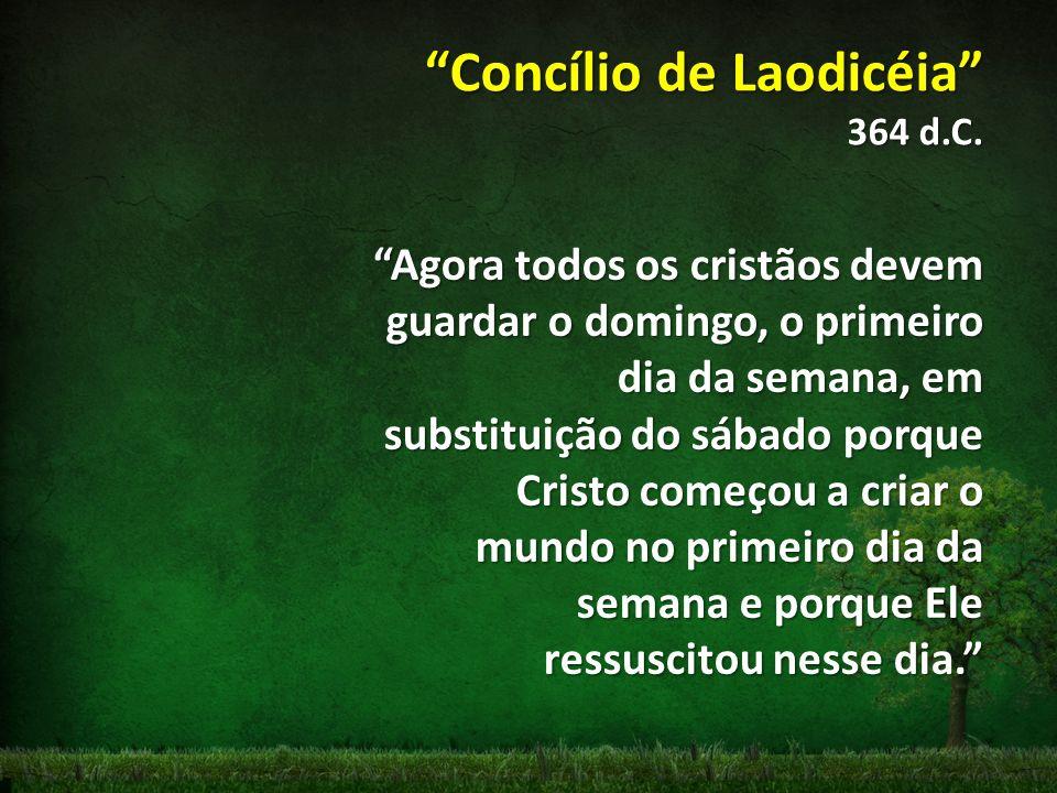 Concílio de Laodicéia 364 d.C.