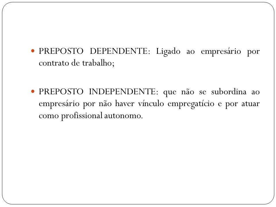 EFEITO DA ESCRITURAÇÃO A escrituração feita pelo contabilista (preposto) é considerada como se tivesse sido executada pessoalmente pelo empresário (preponente), salvo se se comprovar má-fé do contabilista.