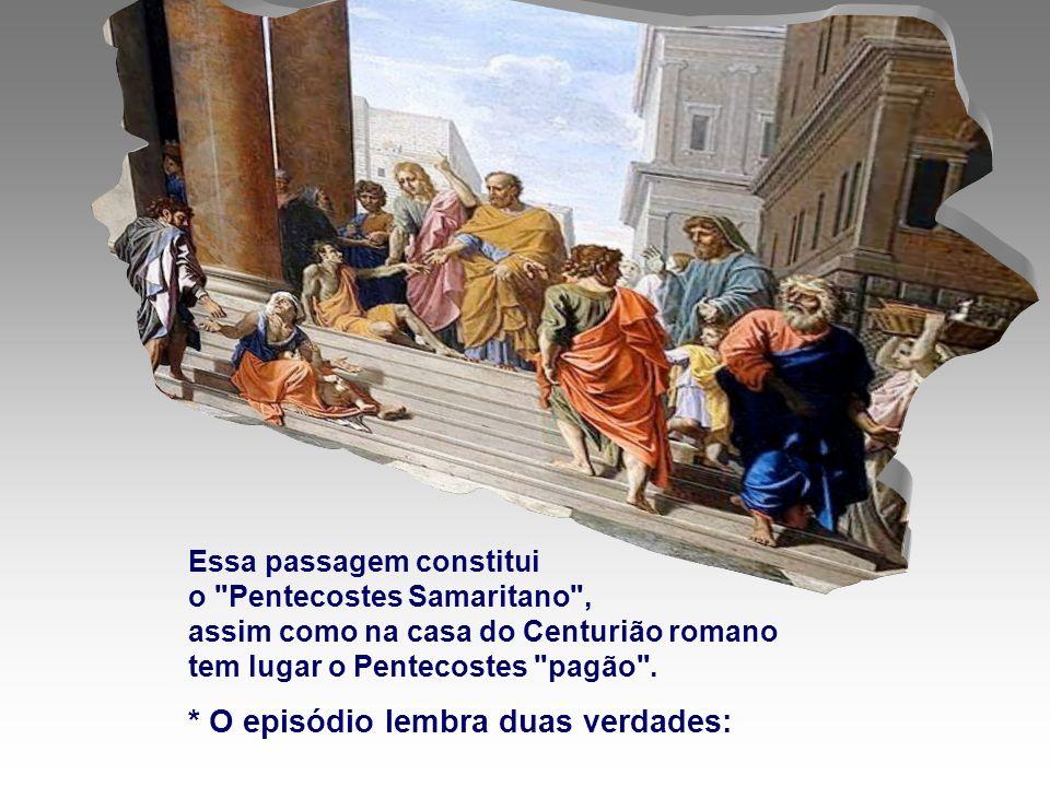 A Liturgia nos mostra que Deus está presente na sua Igreja, pelo Espírito Santo, mesmo depois da volta de Jesus ao Pai.