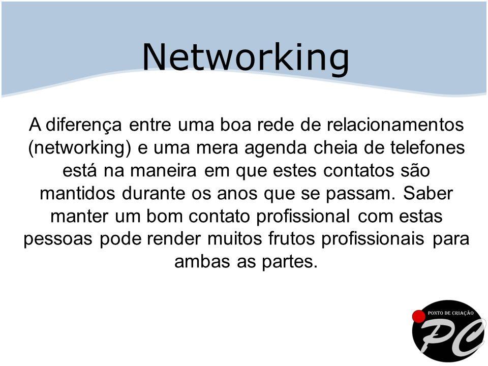 A diferença entre uma boa rede de relacionamentos (networking) e uma mera agenda cheia de telefones está na maneira em que estes contatos são mantidos durante os anos que se passam.