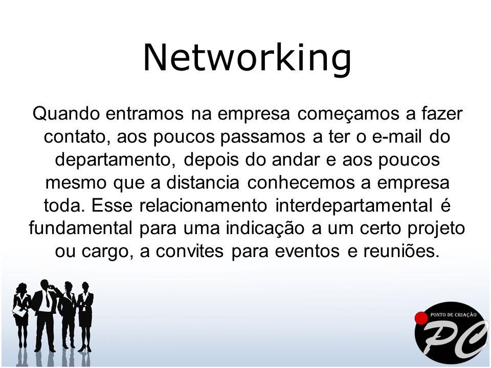 Estas foram apenas algumas dicas para melhorar seu Networking.