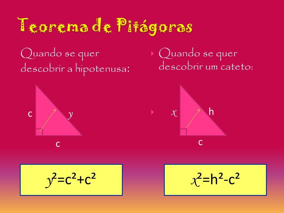 Os lados de um triângulo rectângulo são designados por:  catetos - lados que formam o ângulo recto;  hipotenusa - lado oposto ao ângulo recto.