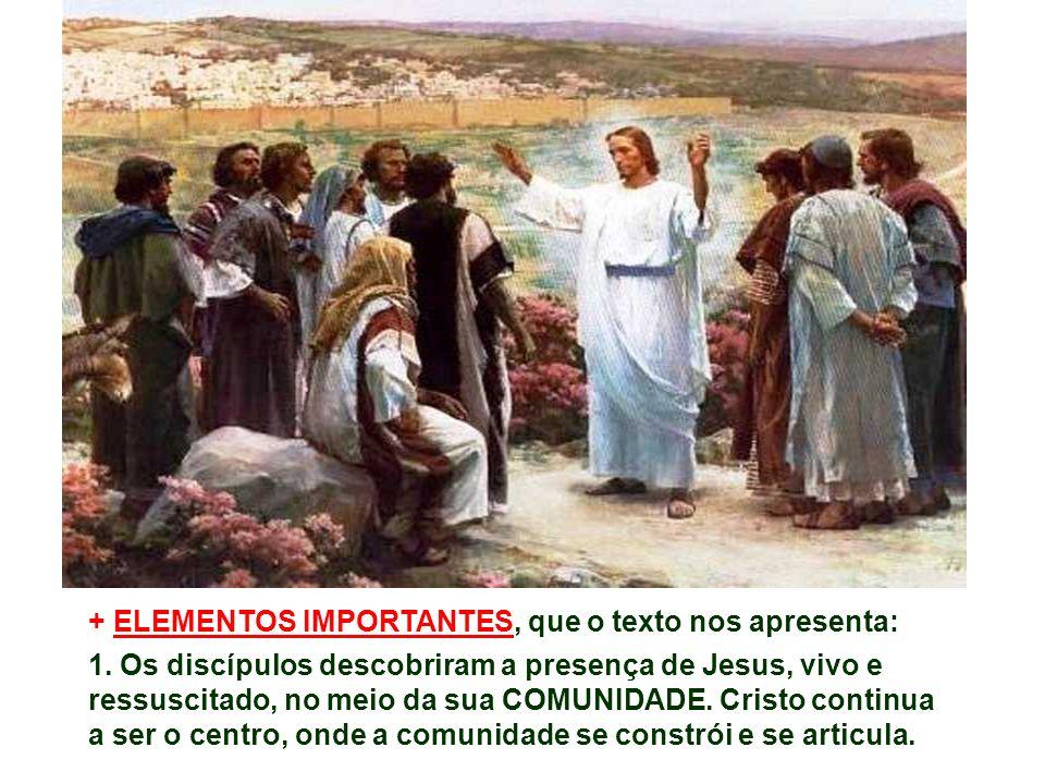 Como os apóstolos, também nós podemos ver Cristo ressuscitado, no meio de dúvidas, incertezas e medos.