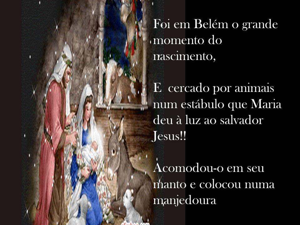 Depois falou com José, para que cuidasse de Maria, Pois o filho que nasceria, era Jesus, o nosso salvador !