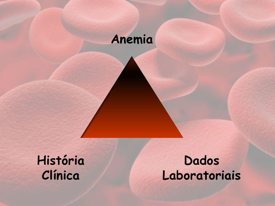 Dados Laboratoriais História Clínica Anemia